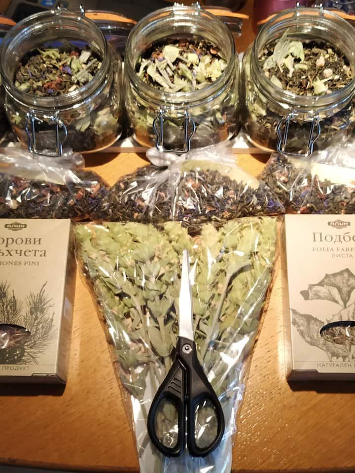 Unique ceylon tea with special herbs