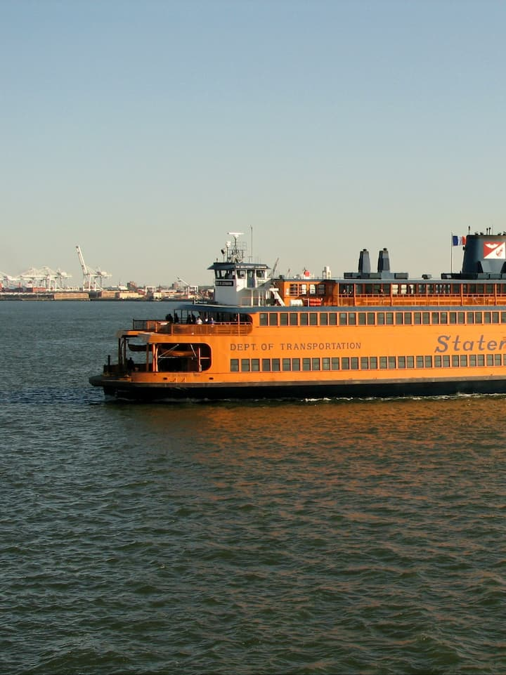 Fun and free ferry ride