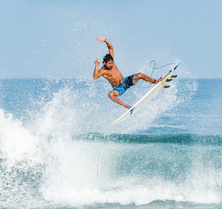 Jose Amed your Pro Local Surfer