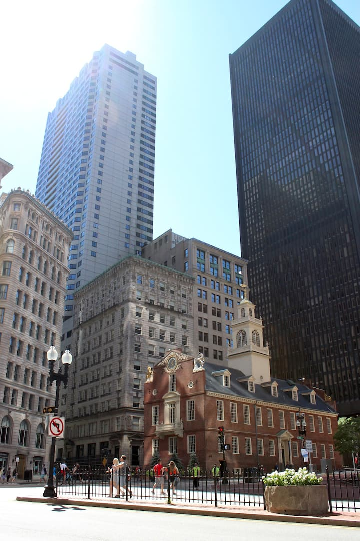 One of the best views of downtown Boston