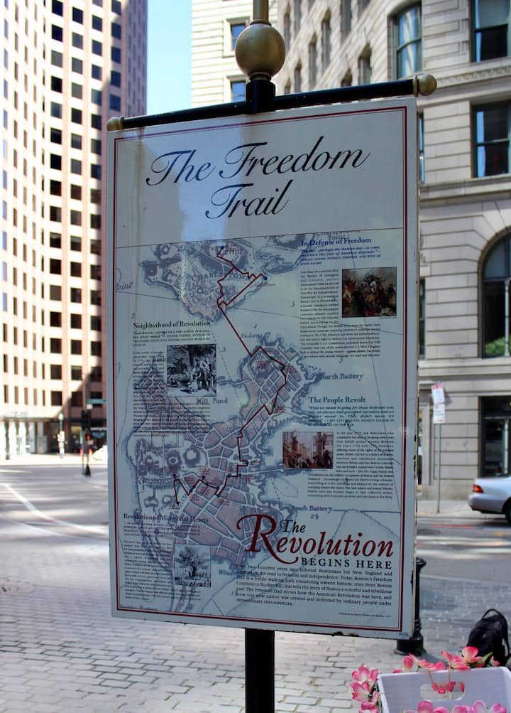 Let me teach you about the Freedom Trail