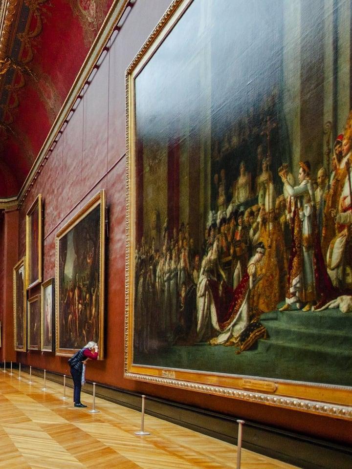 Déjà plus de 5000 guests au Louvre