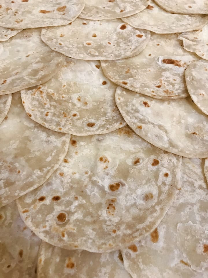 Sample the city's best flour tortillas