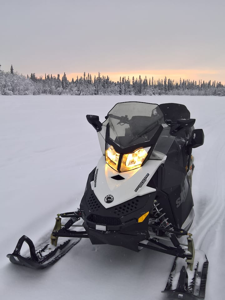 New ecological 4-stroke snowmobile