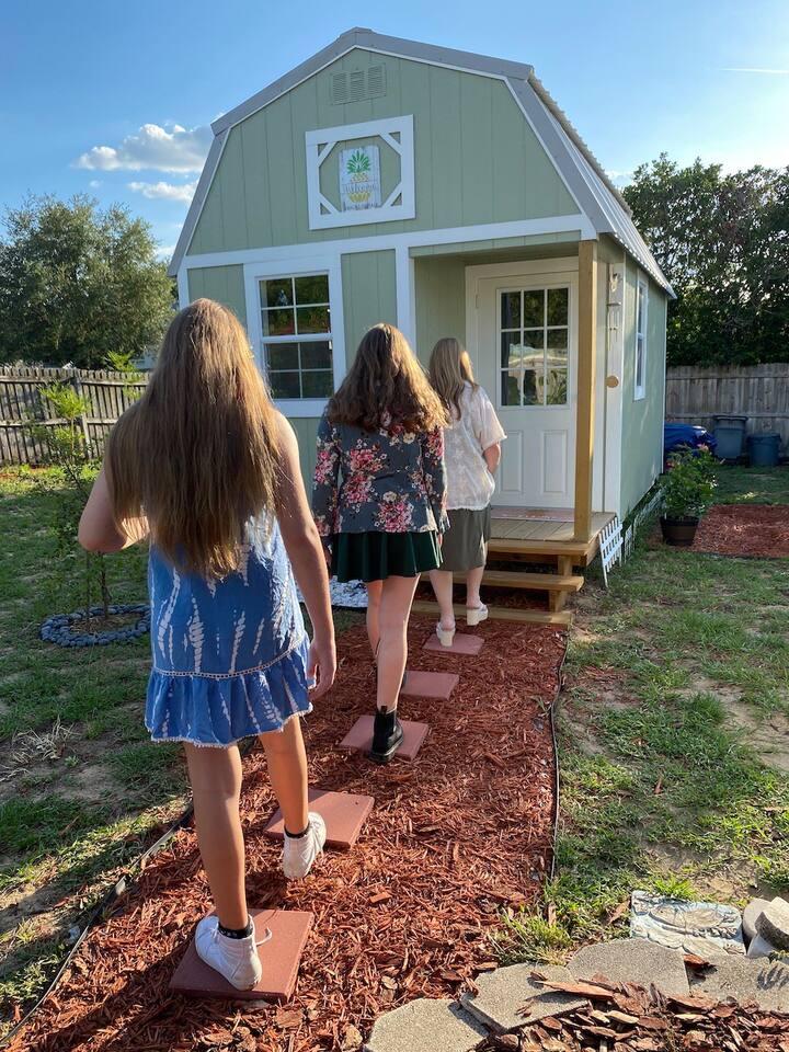 Tiny cottage tour