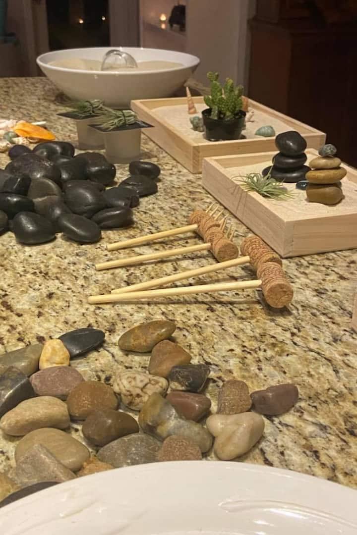Zen Gardens bring a sense of relaxation