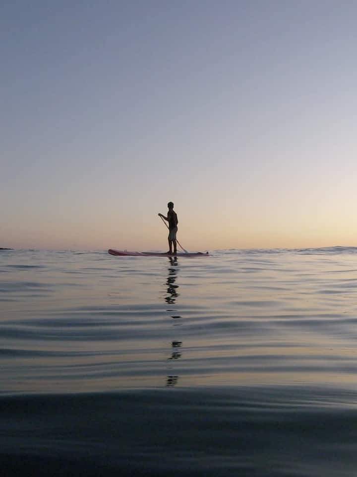 Sunset Paddle board tour at Zicatela