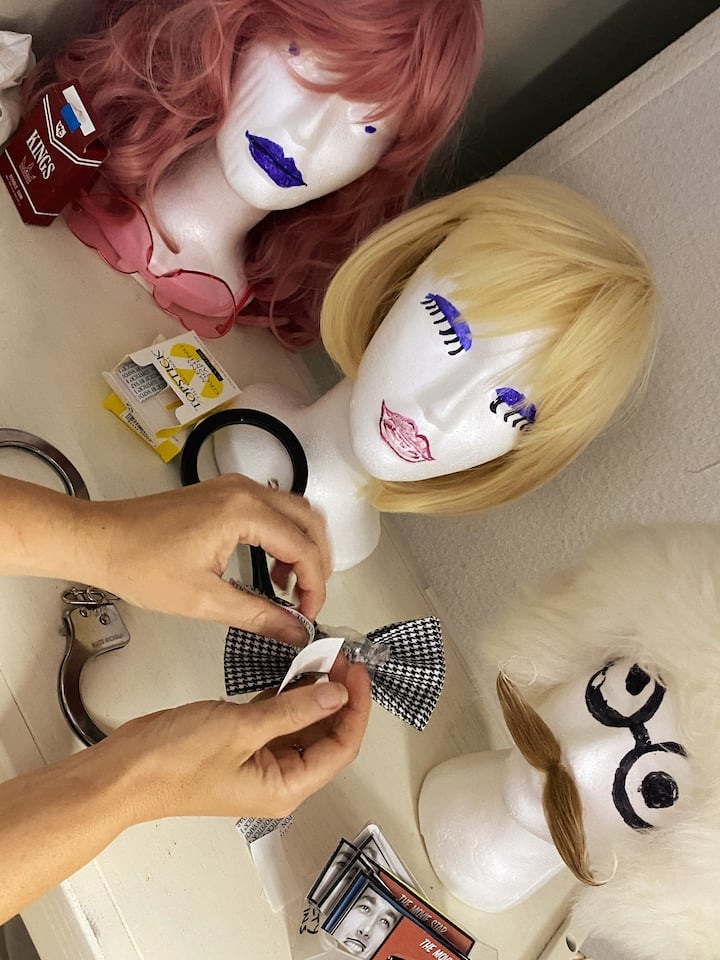 So many wigs...so little time...
