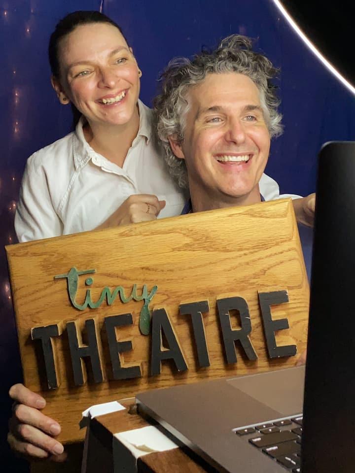 Your hosts!  Rachel & Brendan