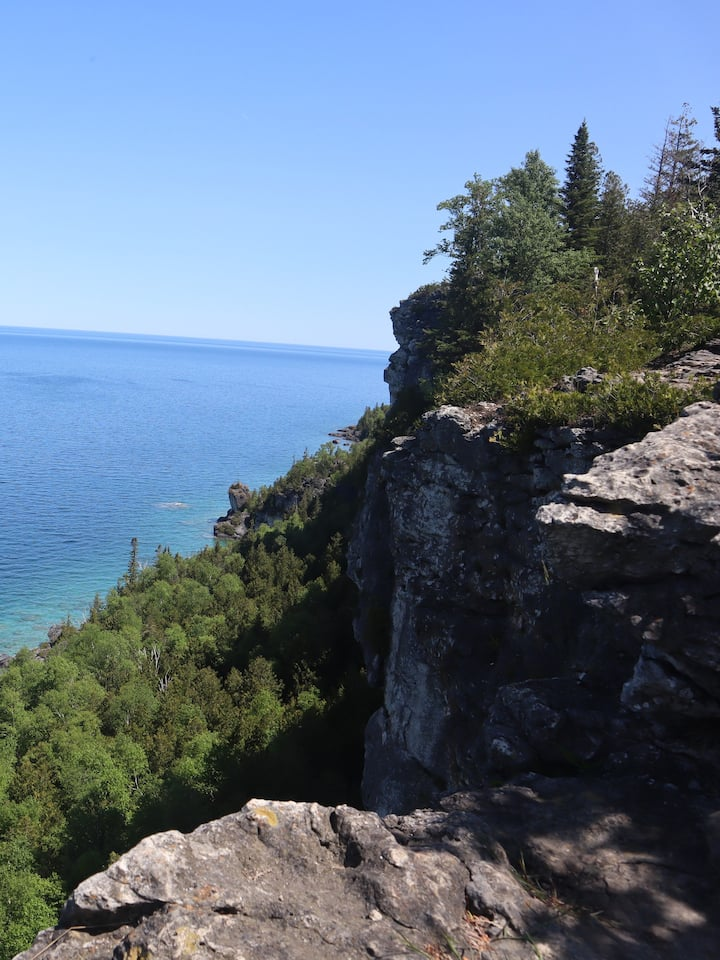 View out into Georgian Bay