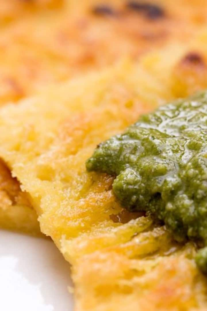 Farinata & pesto