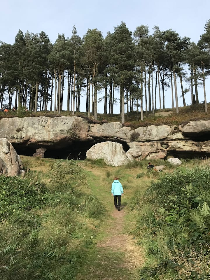 At Cuthbert's Cave