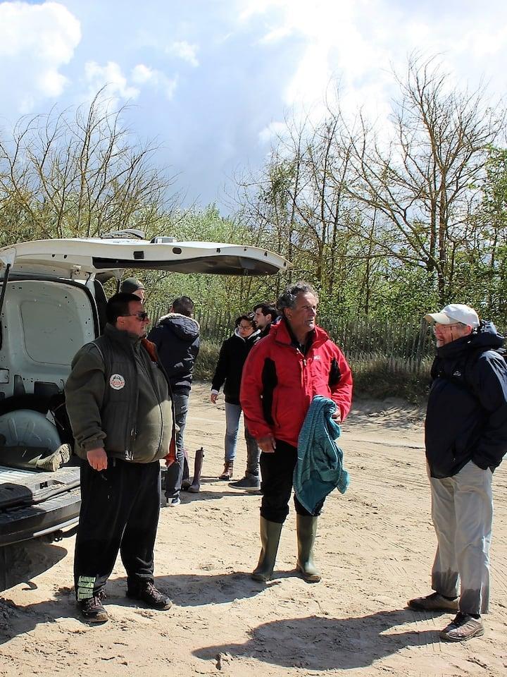 La Maye Le Crotoy avec Alex notre guide