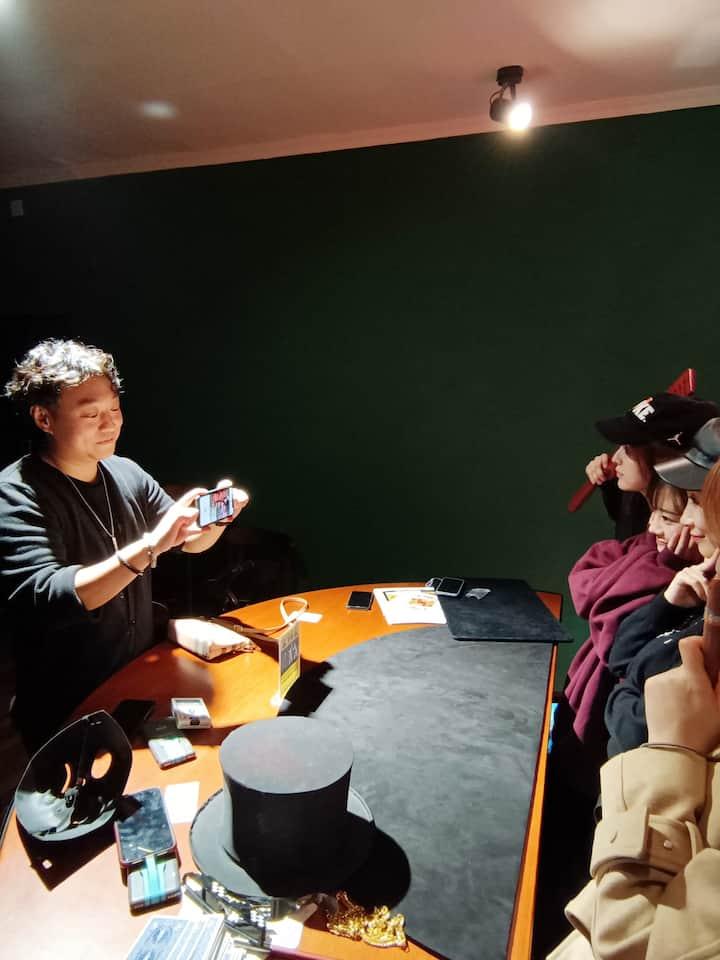 观众拍照打卡
