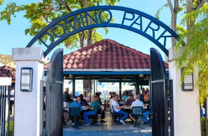 Little Havana's famed Domino Park