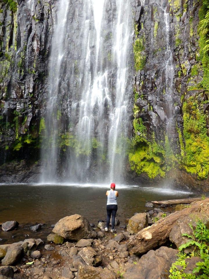 Waterfalls at Materuni, Moshi