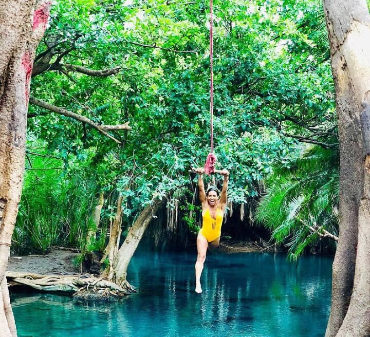 Swing Chemka hot spring.