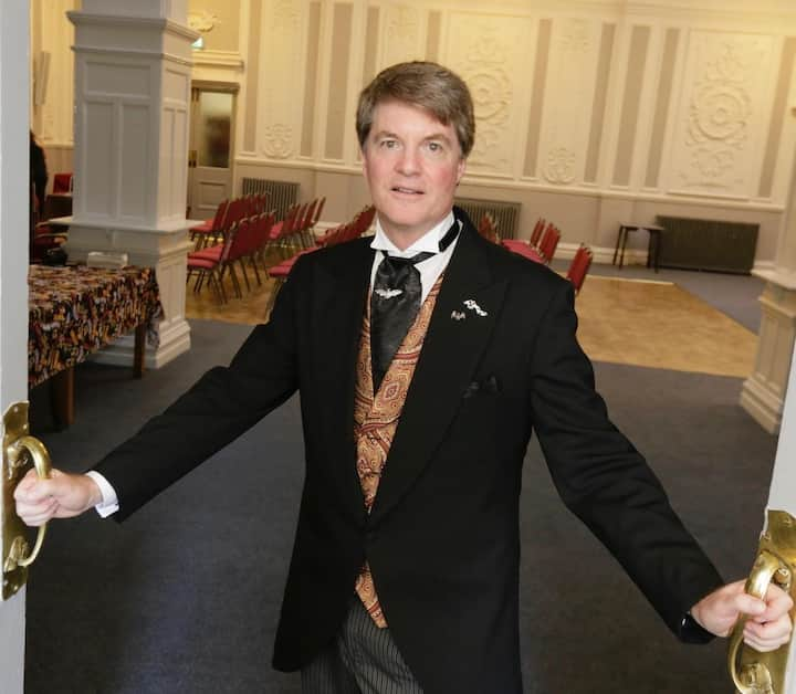 Dacre Stoker welcomes Dracula's guests
