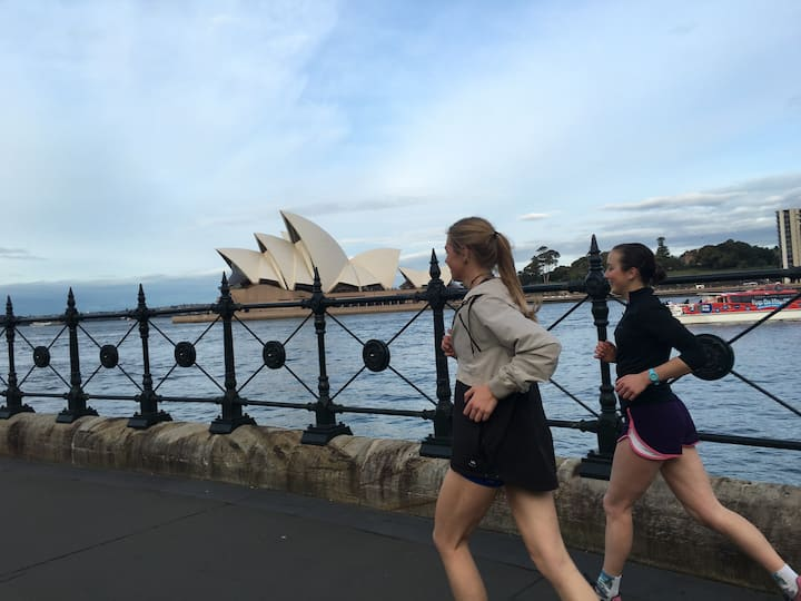 Sweat your way through Sydney!