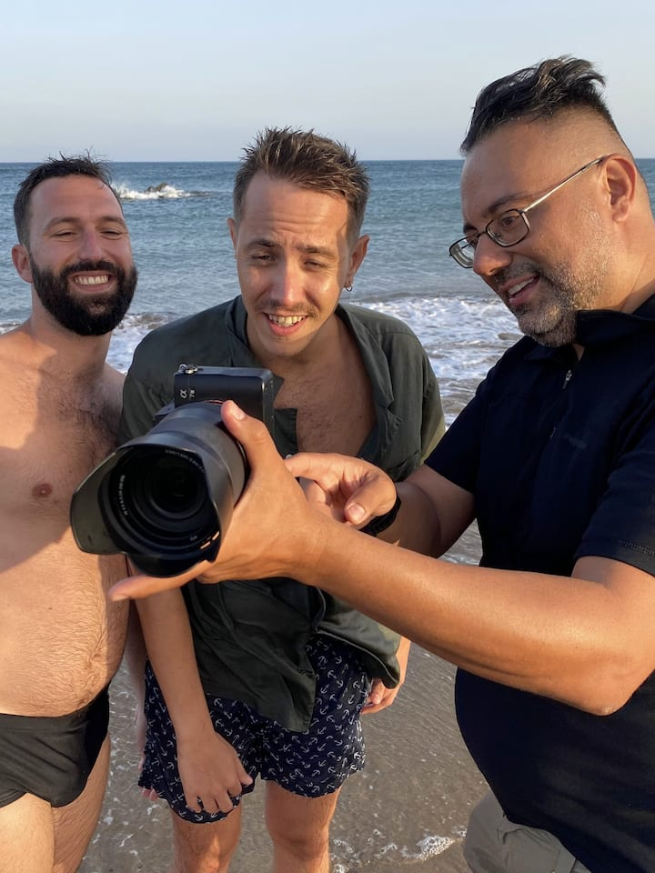 Photoshoot in The Beach