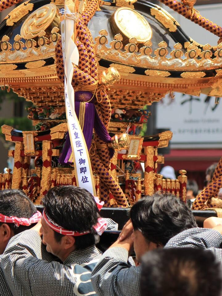 Sanjamatsuri festival in Asakusa