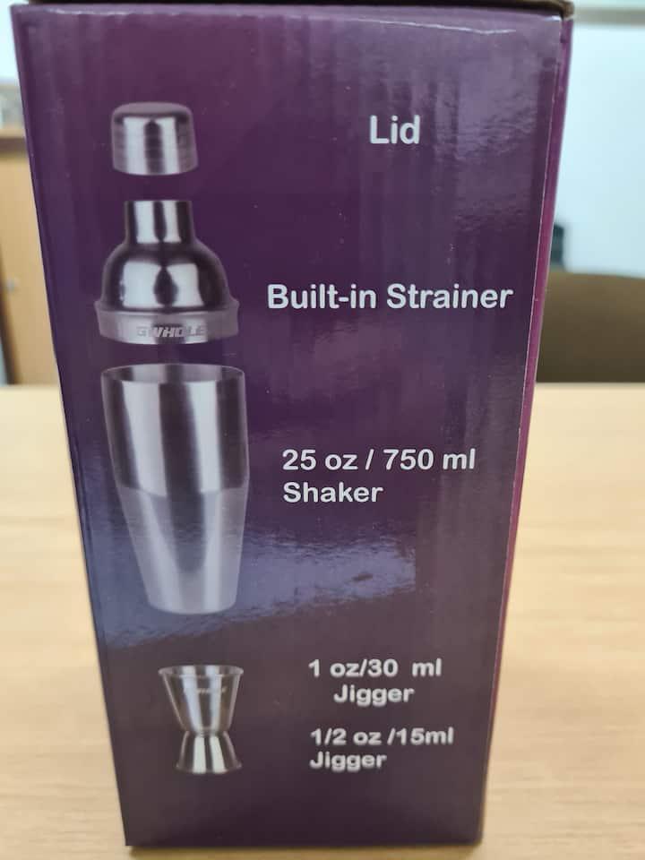Shaker pack