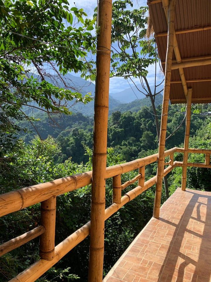 Ecocasa hecha en Bambú
