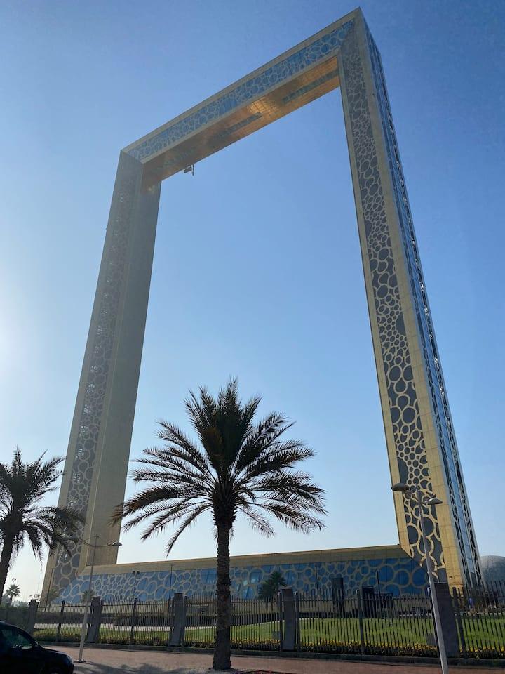 Dubai Frame ..