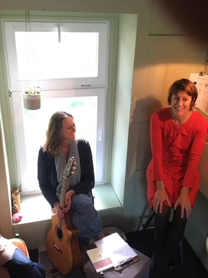 Gespräche im Tiny House