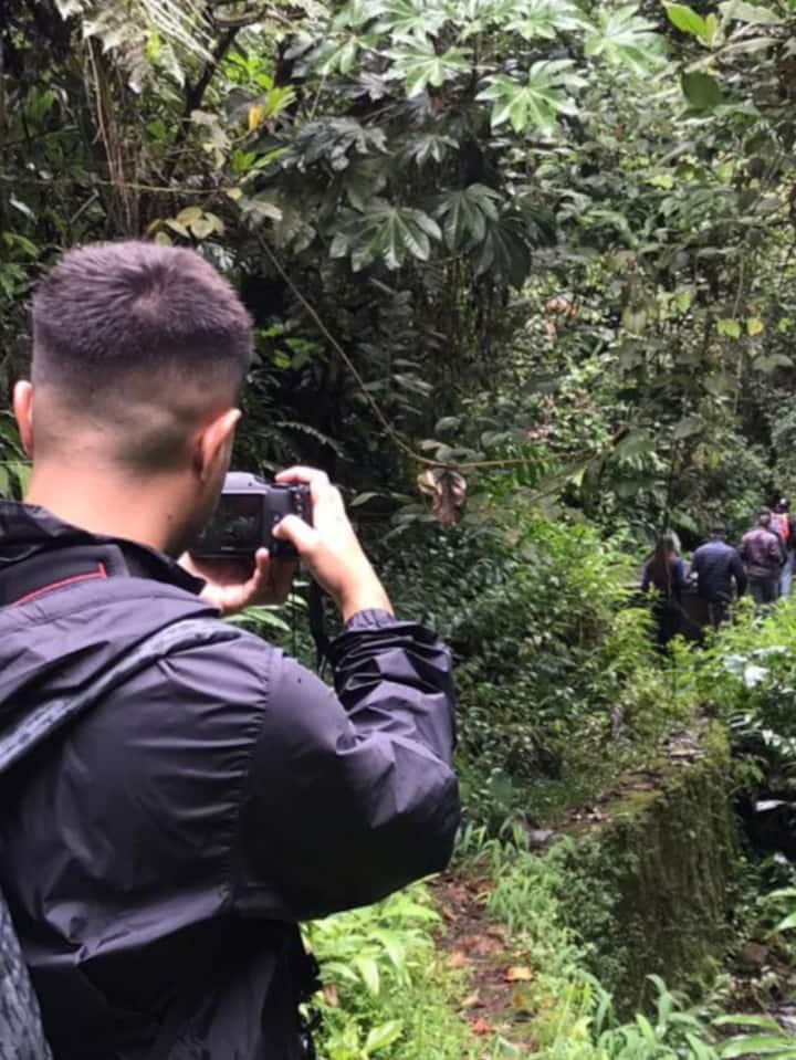 Fotografiando in situ