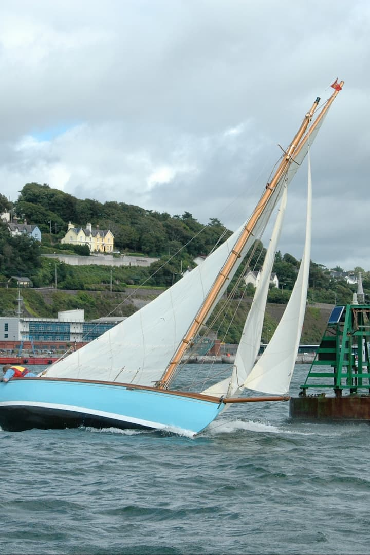Cork Harbour one design classic  yacht