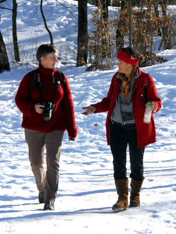 Walking & talking about photography