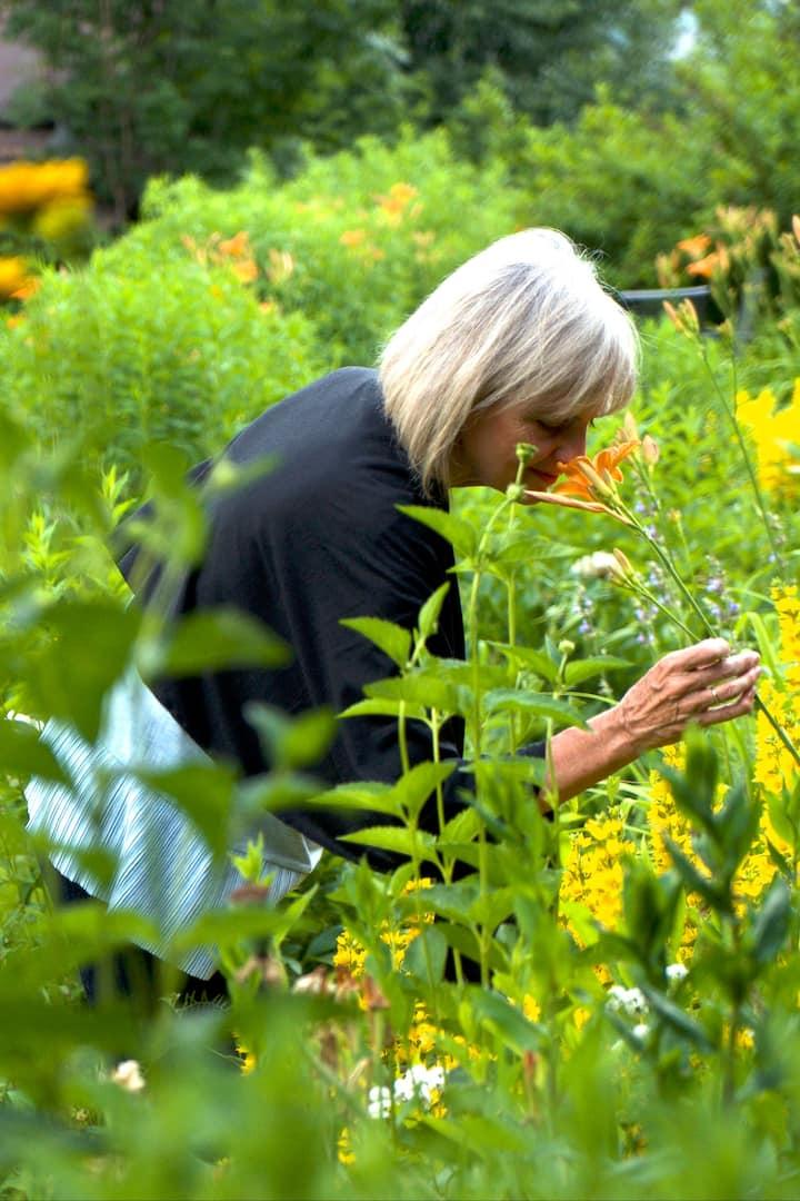 Chamonix's delightful private gardens