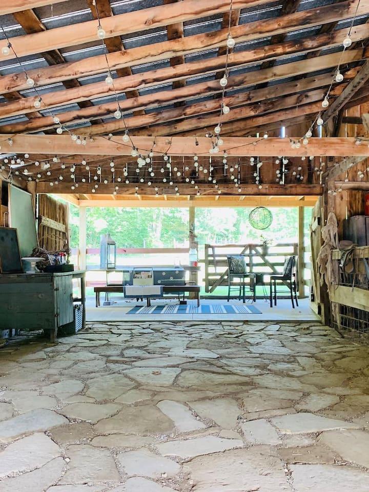 Barn gathering site