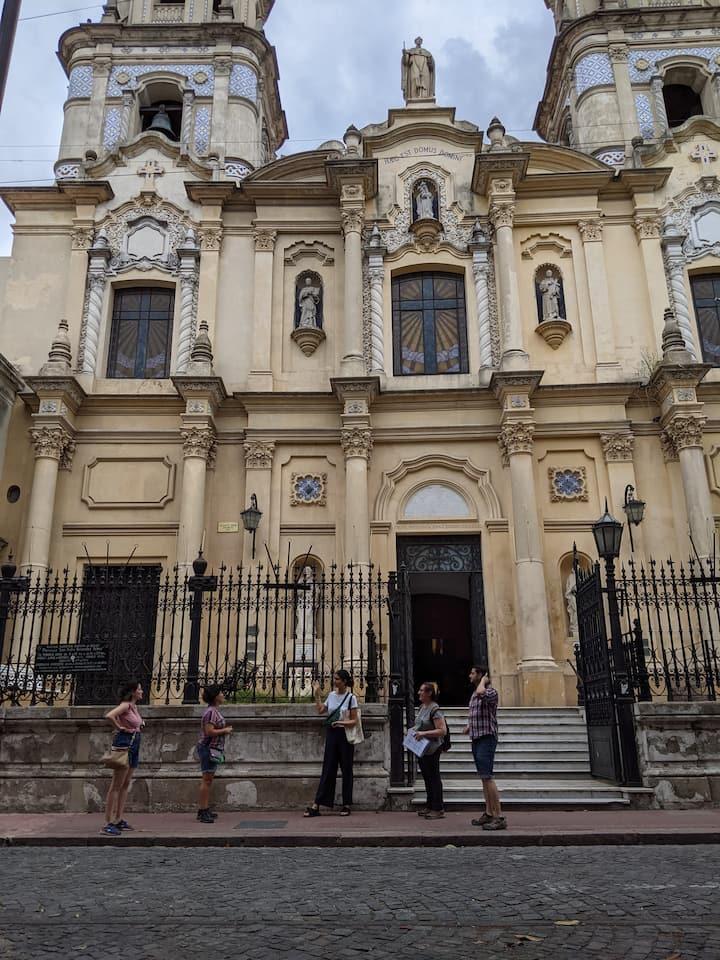 Old, slave-built church