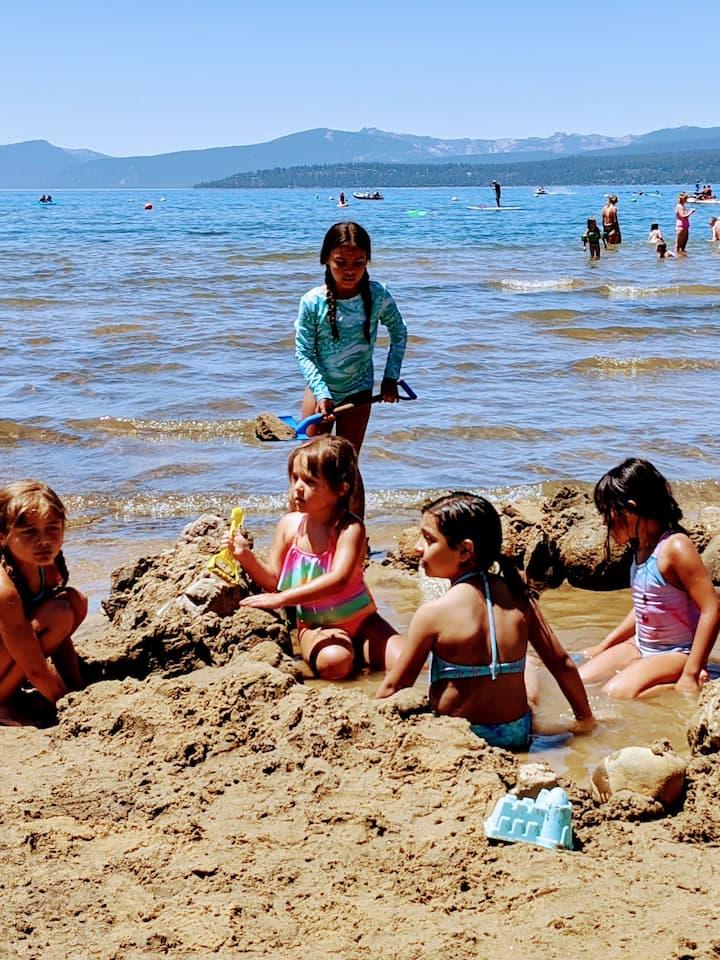 Build Sand Castles & Sand Spas