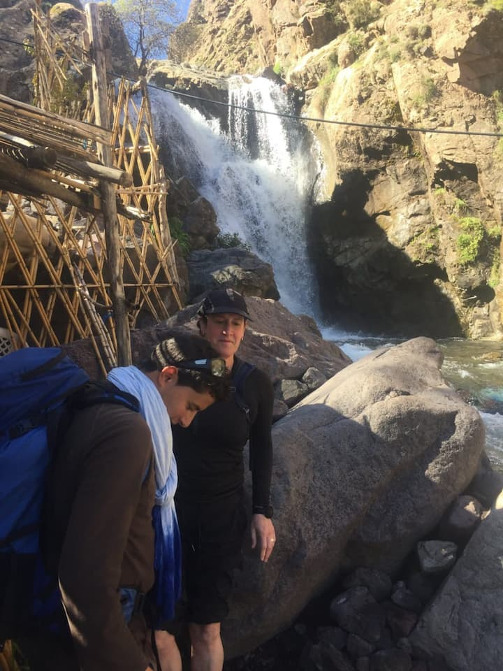 Waterfall imlil.bouchwaw