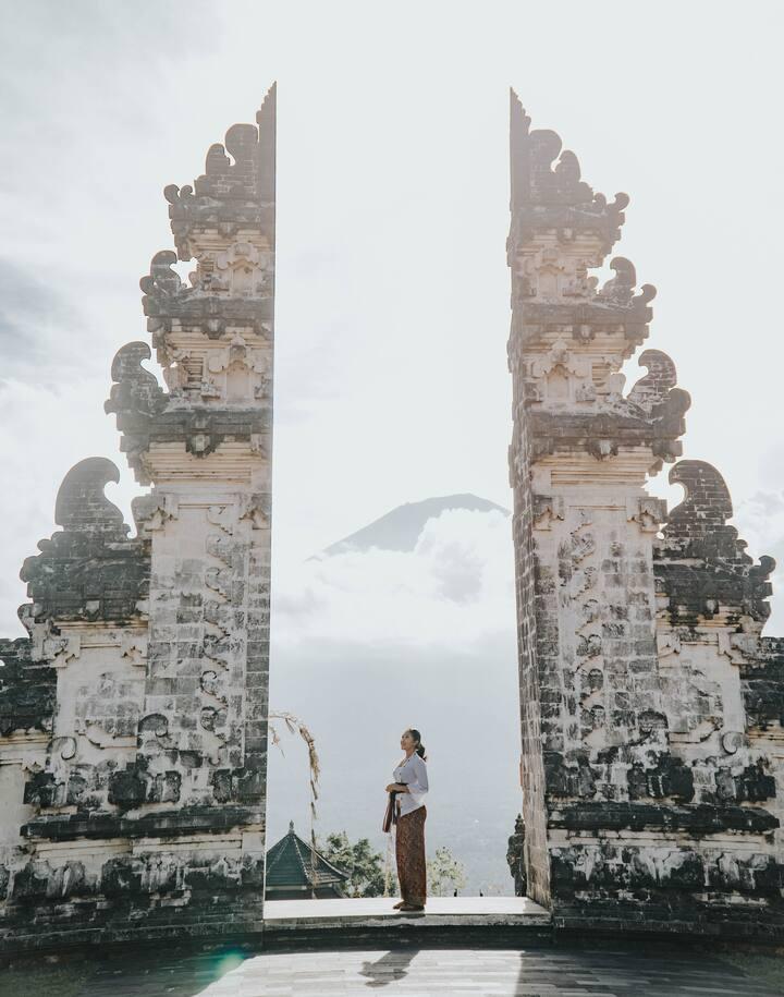 gate of heaven Bali