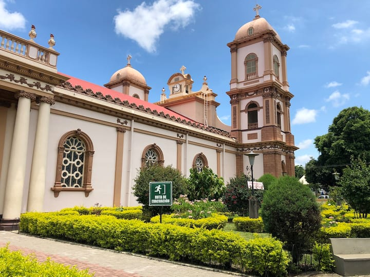 Visita de Iglesia  de Naranjo
