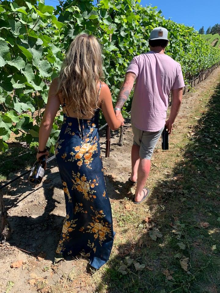 Vineyard walks