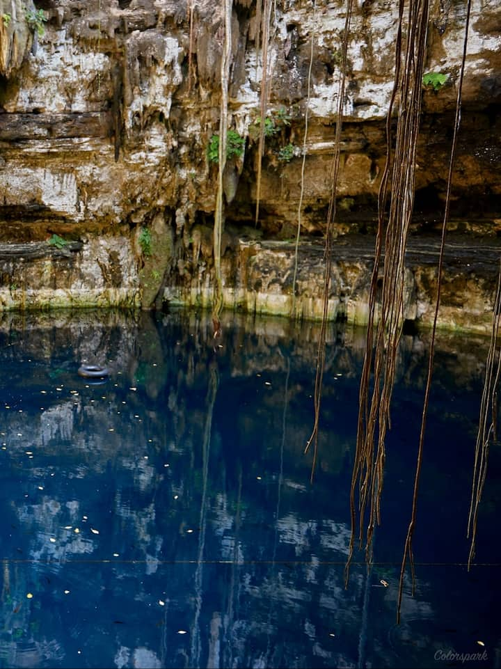 Cenote Hacienda San Lorenzo Oxman