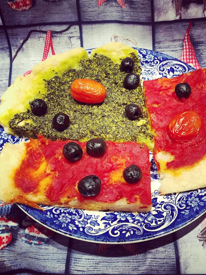 Healthy pizza? Yes we can!