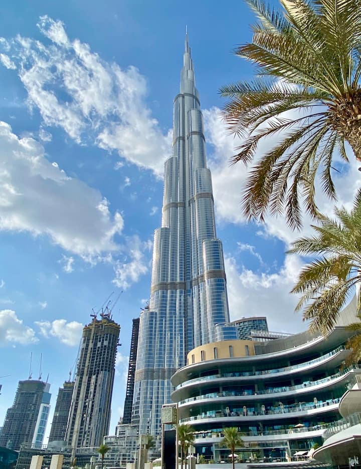 Tallest Burj in the world Burj khalifa