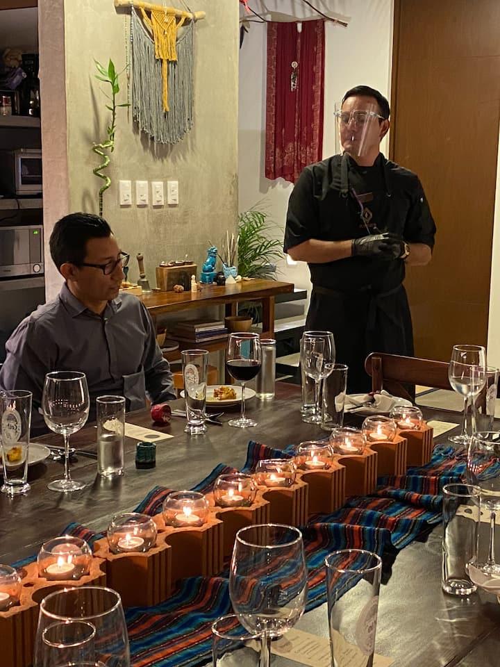 Chef Roman Explains Each Course