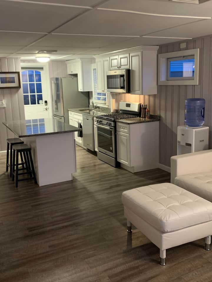 Open concept to mix and socialize