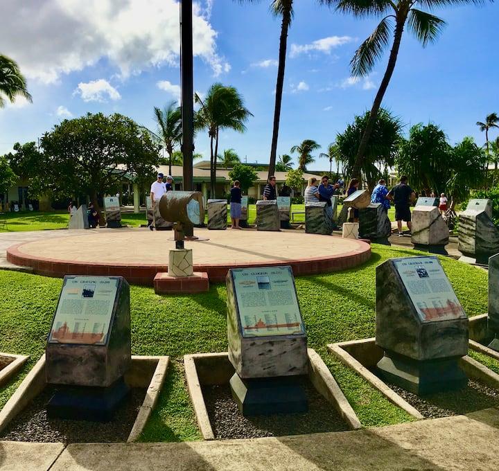 Memorial Circle at Pearl Harbor