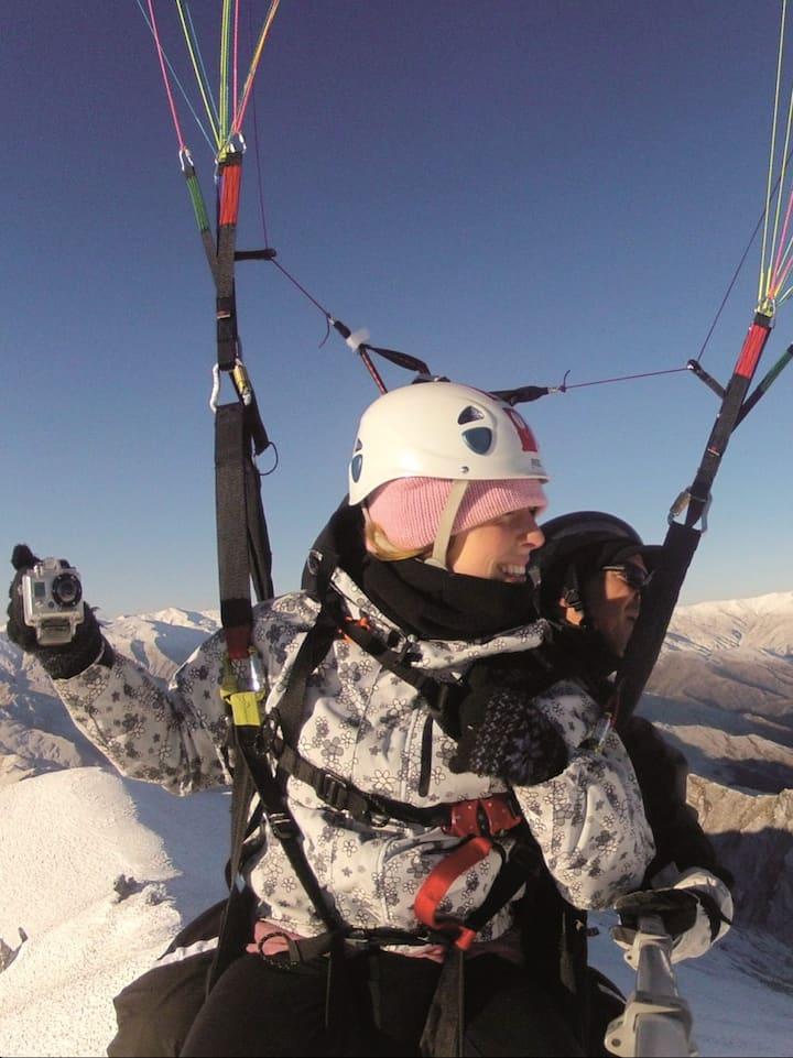 Queenstown's best Paragliding Experience