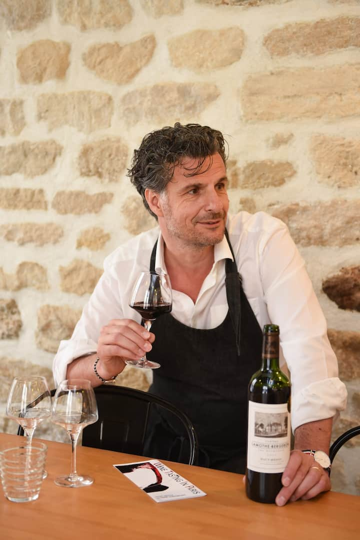 Learn from a real French Sommelier