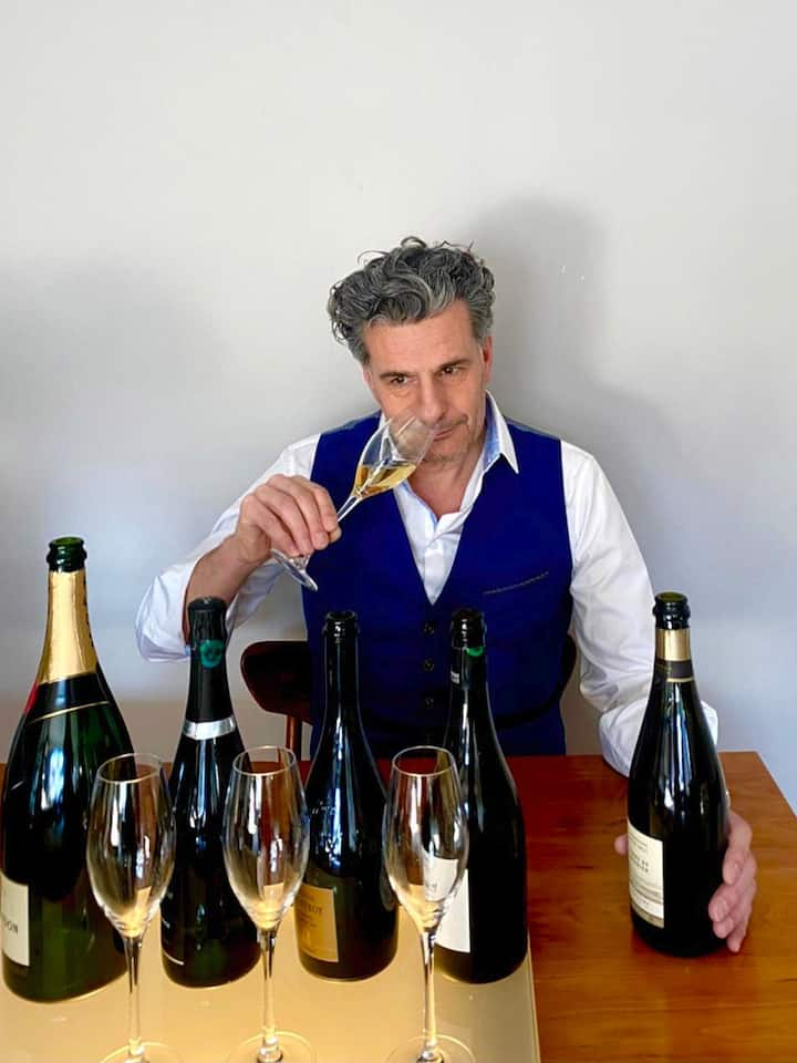 Taste Champagne with your sommelier