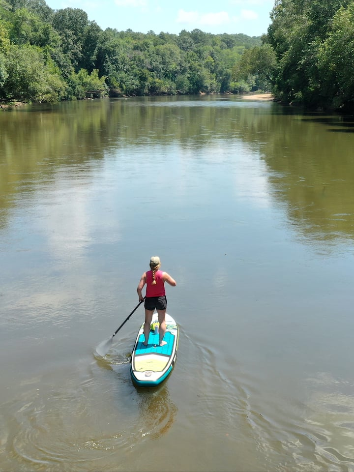 Historical Ocmulgee River